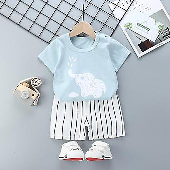 Baby Clothes Suits, Fish Style Clothing Sets T- Shirt+pants (set-2)