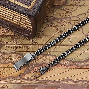 Stainless Steel Chain For Mechanical Pocket Watch & Fob Watch