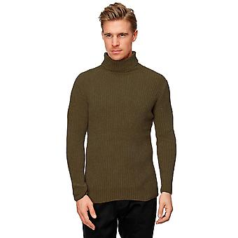 Men Sweaters Turtlenecks Longsleeves Slim Fit Comfort Basic Classic Retro Casual