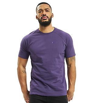 Men's DEF Kai T-Shirt Top Brandlogo-Print Round Neck loose Uni Casual Urban