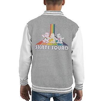 Pflege Bären Skate Squad Kid's Varsity Jacke