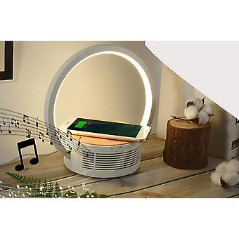 Modern Led Table-lamp For Bedroom, Wireless-charging Cell Phone Desk Lamp