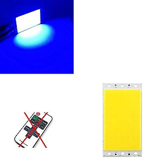 12v 15w Cob Led Panel Light With Dimmer Controller, 1500lm Warm Nature Cold