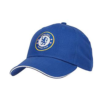 Chelsea FC Core Football Supporter Fan Baseball Cap Hat Royal Blue
