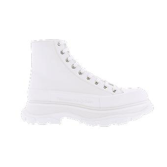 Alexander McQueen H.Boot Tread.Le.S.Ru Box.D.Ca. Pantof alb 627206WHZ629071