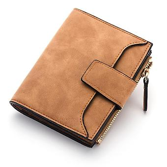 Leather Women Wallet Small/slim Coin Wallet, Cards Holders Luxury Brand Wallets
