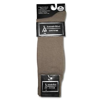 1 Pair of Antonio Ricci Solid Men's COTTON Dress SOCKS