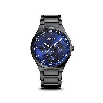 Bering ساعة اليد Unisex الكلاسيكية الأسود المصقول 11740-727