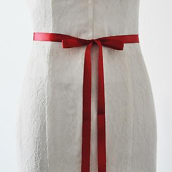 Pas ślubny Skrzydło Luksusowe Różowe Złoto Rhinestone Party Druhna Sukienka Jewel