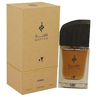 Qafiya 02 Eau De Parfum Spray By Ajmal 2.5 oz Eau De Parfum Spray