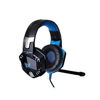 سماعات G2000 Pro 3.5mm للألعاب لأجهزة الكمبيوتر المحمول PS4 PS5 Xbox