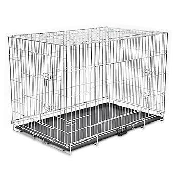 Pliable boîte de chien en métal XXL