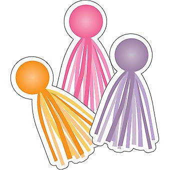 Hello Sunshine Tassels Cut-Outs, Pack Of 36