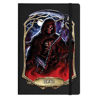 Cuaderno mortal de la muerte de obsidiana A5