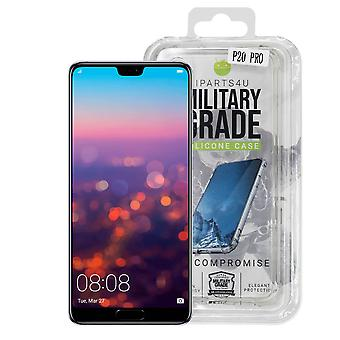 iParts4u Military Grade Silicone Case - Huawei P20 Pro - Clear