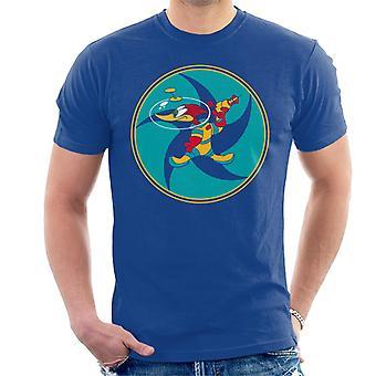 Woody Woodpecker Space Suit Hombres's Camiseta