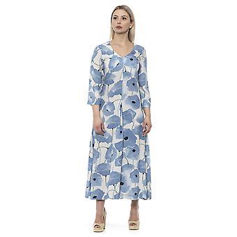 Blaues Kleid Alpha Studio Damen