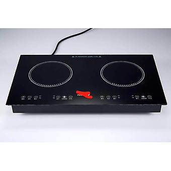 2 3 / 4 Heads Built-in Hobs Induction Infrared Cooker High Power Hot Pot Stove