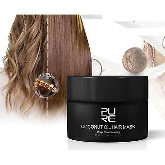 50ml Kokosöl Tonic Keratin Wiederherstellung Kopfhaut Behandlung Haarpflege Maske Tslm2