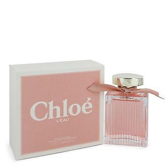 Chloe L'eau Eau De Toilette Spray Por Chloe 3.3 oz Eau De Toilette Spray