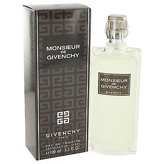 Monsieur Givenchy Eau De Toilette Spray da Givenchy 3.4 oz Eau De Toilette Spray
