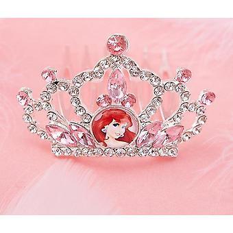 राजकुमारी जमे हुए अन्ना/एल्सा/एरियल ड्रेस अप क्राउन विग जादू श्रृंगार