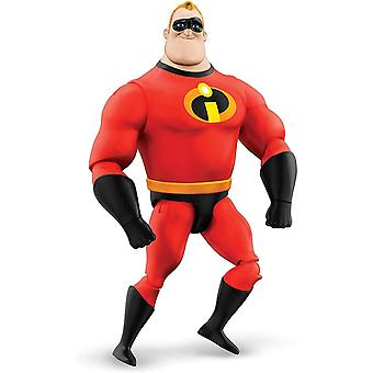 Disney Pixar Interactables Mr. Incredible Talking Action Figure, 8-Inch / 20.3-cm Tall Highly
