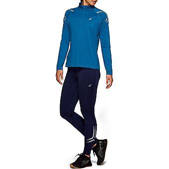 Asics Womens Icon Winter Half Zip Jumper Long Sleeve Sports Training Top