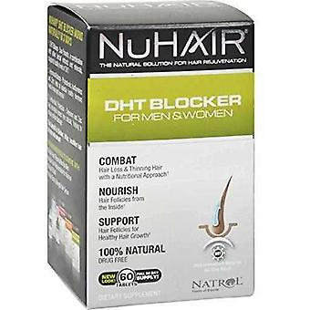 Natrol NuHair DHT blocker 60 tabletas