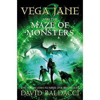 Vega Jane och monsterlabyrint av David Baldacci