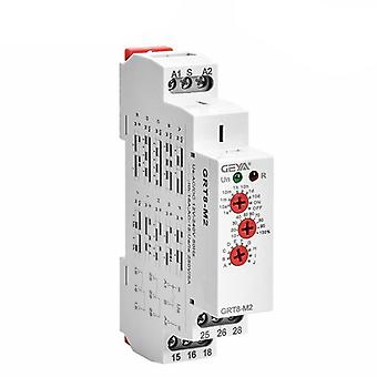 Geya Grt8-m 16a Multifunction Timer Relay With 10 Function Choices Ac Dc 12v