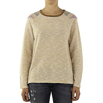 Custo Barcelona Women Sweatshirt Bam Beige