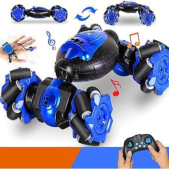 OZOY RC Stunt Car, Kids Toys , 2.4G Gesture Sensing Remote Control Stunt Car With 4-Wheel Drive, 360