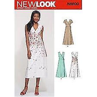 מראה חדש תפירה דפוס 6600 מתגעגע נשים שמלה גודל 10-22 A