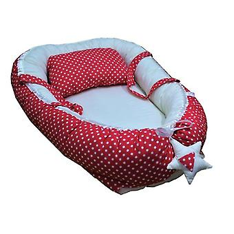 Baby Sleeping Bed And Pillows, Cotton Pillow Or Pad