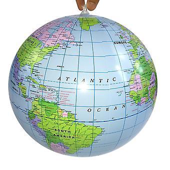 40cm Inflatable Globe World Earth Ocean Map Ball Educational Supplies