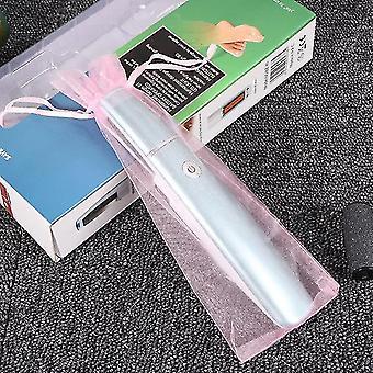 Elektrischer Callus-Entferner und Rasierer Fuß Callus Entferner Fuß Datei Pediküre Kit entfernt trockene tote hart rissige Haut (rot)