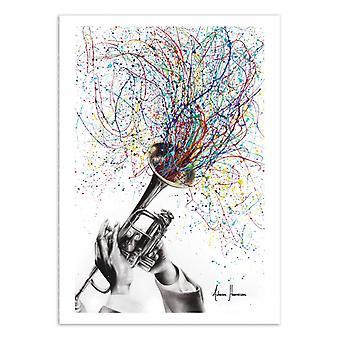 Art-Poster - Soul of sound - Ashvin Harrison