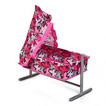 Pop bed, pop wieg Butterfly 9339, met Sky en Ruffle 59x29, 5x61cm