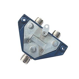PNI COX 210 koaxialdelare SO239 kontakter för montering av 2 radiostationsantenner