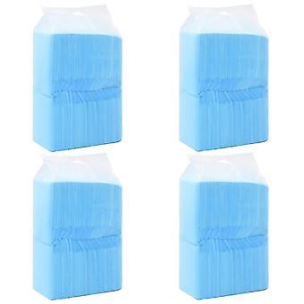 vidaXL tapis de toilette pour chiens 400 pcs 90×60 cm Non-tissé