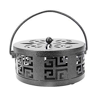 Oriental Mosquito Coil & Incense Holder   M&W Black