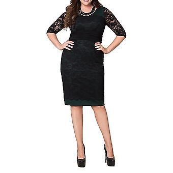 Kiyonna   RSVP Lace Cocktail Dress