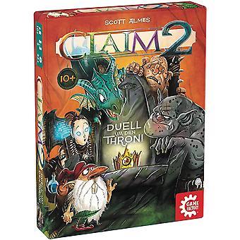FengChun 646223 Claim 2,Das Duell um den Thron,Kartenspiel,Stichspiel, fr zwei Spieler