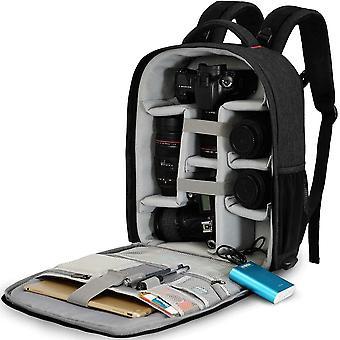 FengChun Kamerarucksack Spiegelreflex Tasche Wasserabweisend Fotorucksack mit Regenschutz Kamera