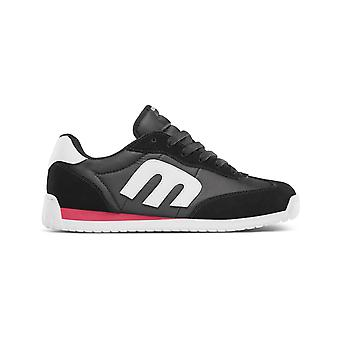 Etnies Lo-Cut CB Trainers in Black/Red/White