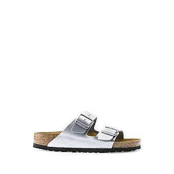 Birkenstock - Shoes - Flip Flops - ARIZONA-1012283-SILVER - Women - Silver - EU 36