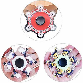 3 stykker tik tok, den samme Naruto fingerspids spinning top, spinning Naruto Sasuke dynamisk spinning top finger spinning top