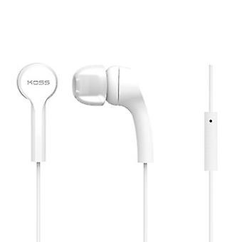 """Koss """"KEB9i"""" earphones, white"""