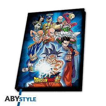Dragon Ball Super Universe 7 A5 Notebook